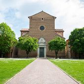 picture of ferrara  - View of the Monumental Graveyard Of Ferrara City
