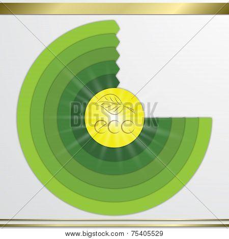 Modern vector circle diagram infographics elements.