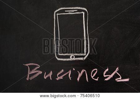 Moble Business Concept