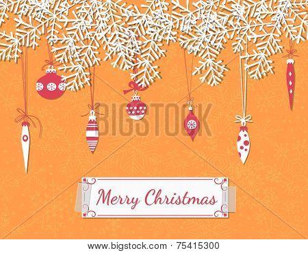 Christmas Scrapbook Card
