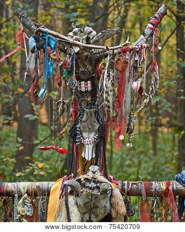 Offerings To The Pagan Gods.