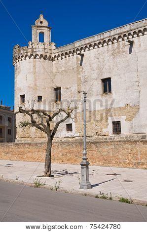 Ducal Castle of Torremaggiore. Puglia. Southern Italy.