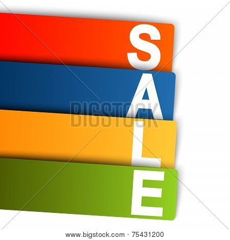 Infographic Sale Colorful