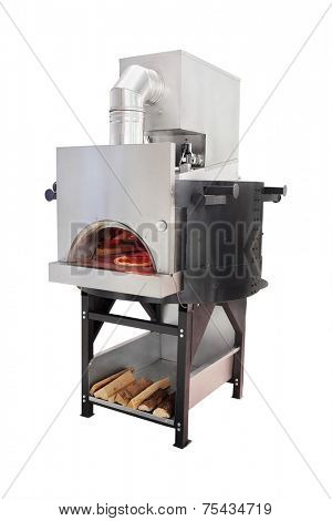 image of a traditional oven for cooking and baking pizza