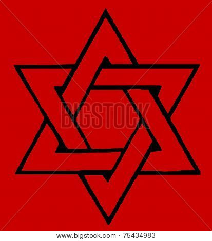 Red Star Of David