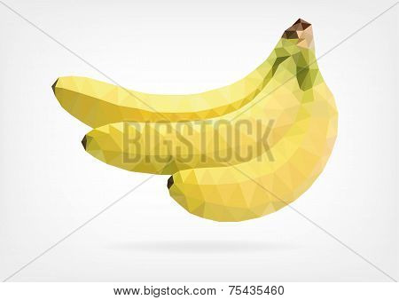 Low Poly Banana