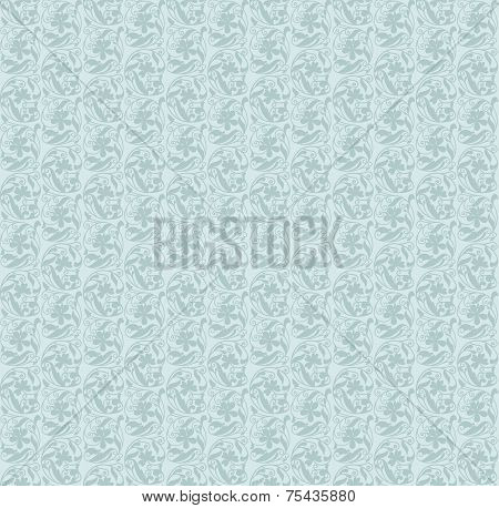 Floral pattern. Wallpaper baroque, damask. Seamless vector backg