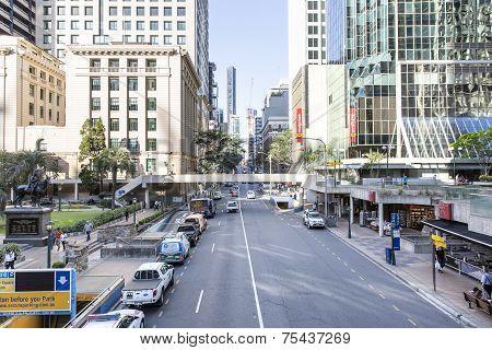 Brisbane CBD Adelaide Street