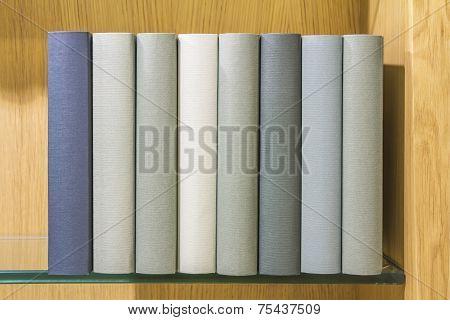 Book On Glass Shelf