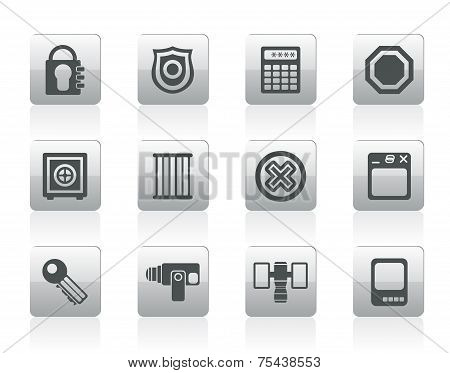 Security and Business icons