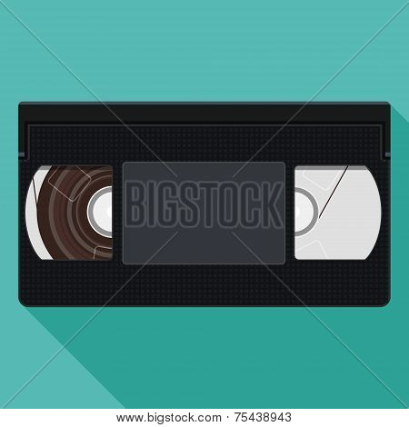 Illustration Of Retro Vhs Video Tape