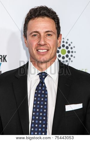 NEW YORK, NY - NOVEMBER 05: Chris Cuomo attend 2014 Stand Up For Heroes at Madison Square Garden on November 5, 2014 in New York City.