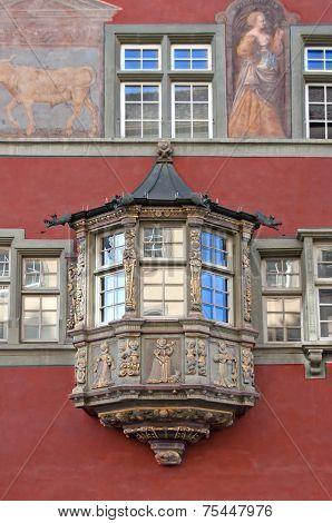 Oriel Window in Rococo style