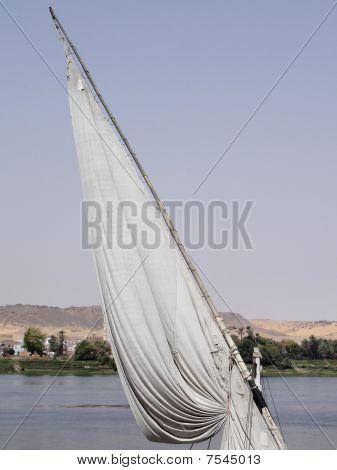 Lone sail.