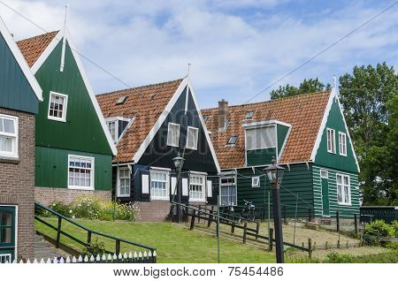 Typical Houses Of Marken