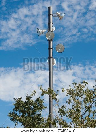 Park Lighting Pole
