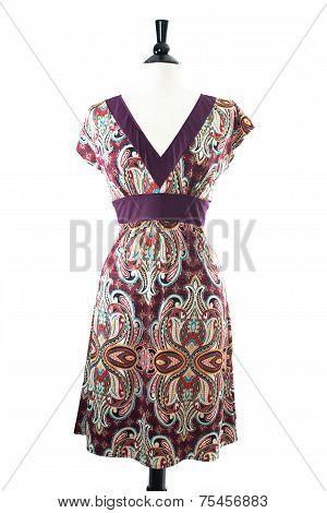 Dress on mannequin