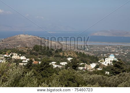 Sceneric View From Zia, Kos; Greece
