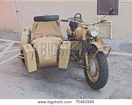 German Military Bike Bmw R75