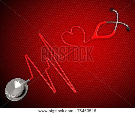 Medical Health Shows Preventive Medicine And Cardiac