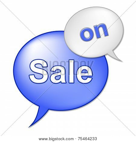 Sale On Sign Indicates At This Time And Clearance