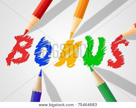 Kids Bonus Means For Free And Added