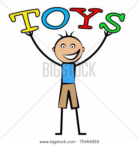 Kids Toys Shows Youths Youngster And Children's