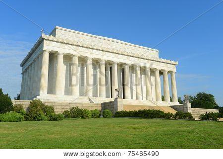 Lincoln Memorial in Washington Lincoln Memorial in Washington DC, USA