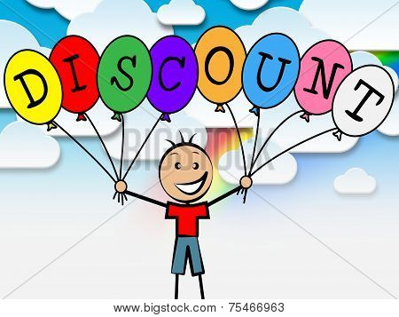 Discount Balloons Shows Youngster Youth And Reduction