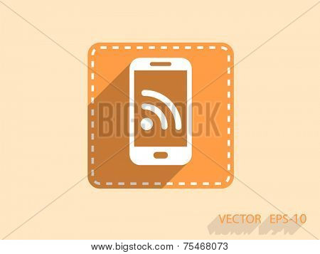 RSS mobile icon