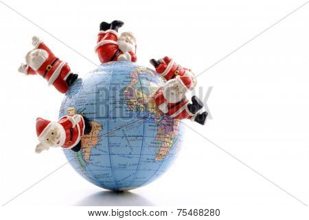 Hohoho world for celebrating Christmas around the world
