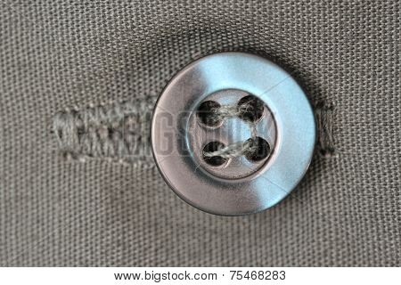Photo of Close of a button