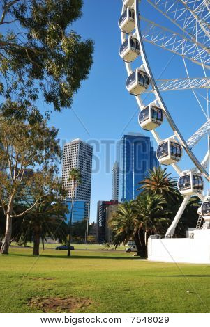 Ferris-wheel in Perth, Australia.