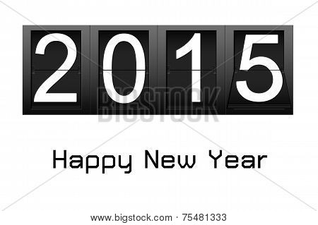 Happy New Year 2015, Digital Number Countdown