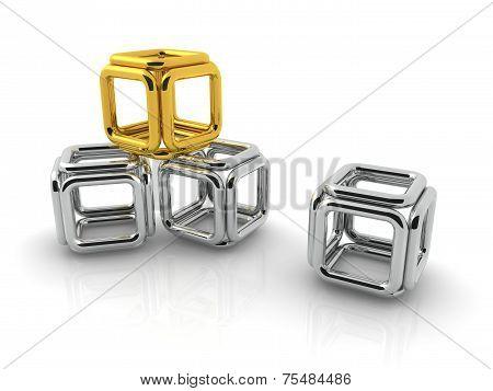 Metallic Square