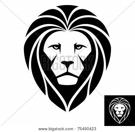 Lion Head Logo or Icon