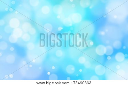 Blue And White Light Flare Background
