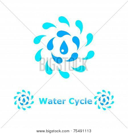 Water Cycle Concept Illustration