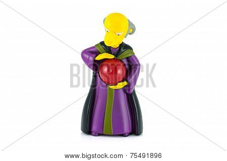Mister Burns Figure Toy Character From The Simpsons