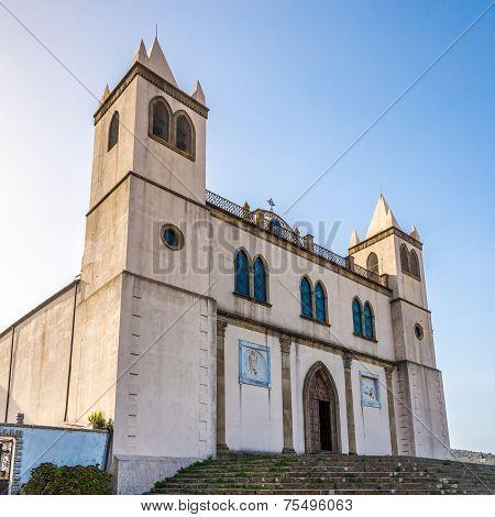 Basilica Santa Maria Della Neve In Sardinian Cuglieri