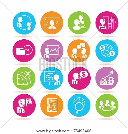 organization management icons