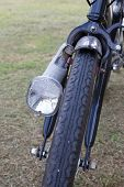 picture of dynamo  - Dynamo light on the tail of a bicycle - JPG