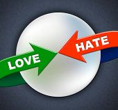 picture of compassion  - Love Hate Arrows Meaning Boyfriend Fondness And Heart - JPG