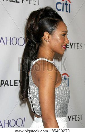 LOS ANGELES - MAR 14:  Candice Patton at the PaleyFEST LA 2015 -