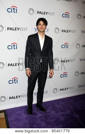 LOS ANGELES - MAR 13:  Darren Criss at the PaleyFEST LA 2015 -