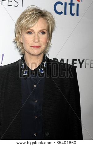 LOS ANGELES - MAR 13:  Jane Lynch at the PaleyFEST LA 2015 -