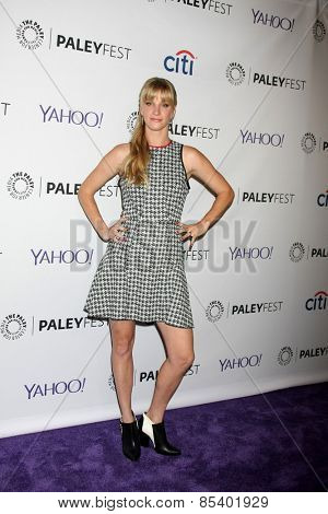 LOS ANGELES - MAR 13:  Heather Morris at the PaleyFEST LA 2015 -