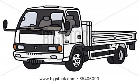 Small lorry truck