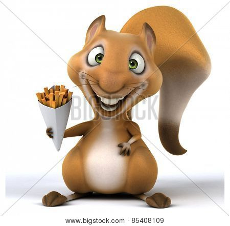 Fun squirrel