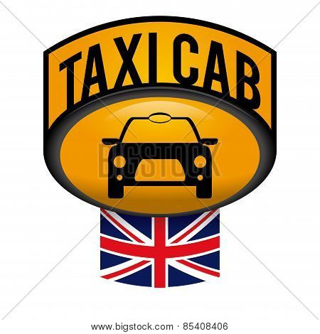 Taxi design over gray background vector illustration
